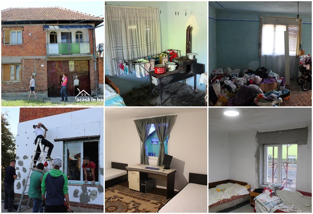 Intervenția Asociației Acasă în Banat la Ionela din Coșteiu